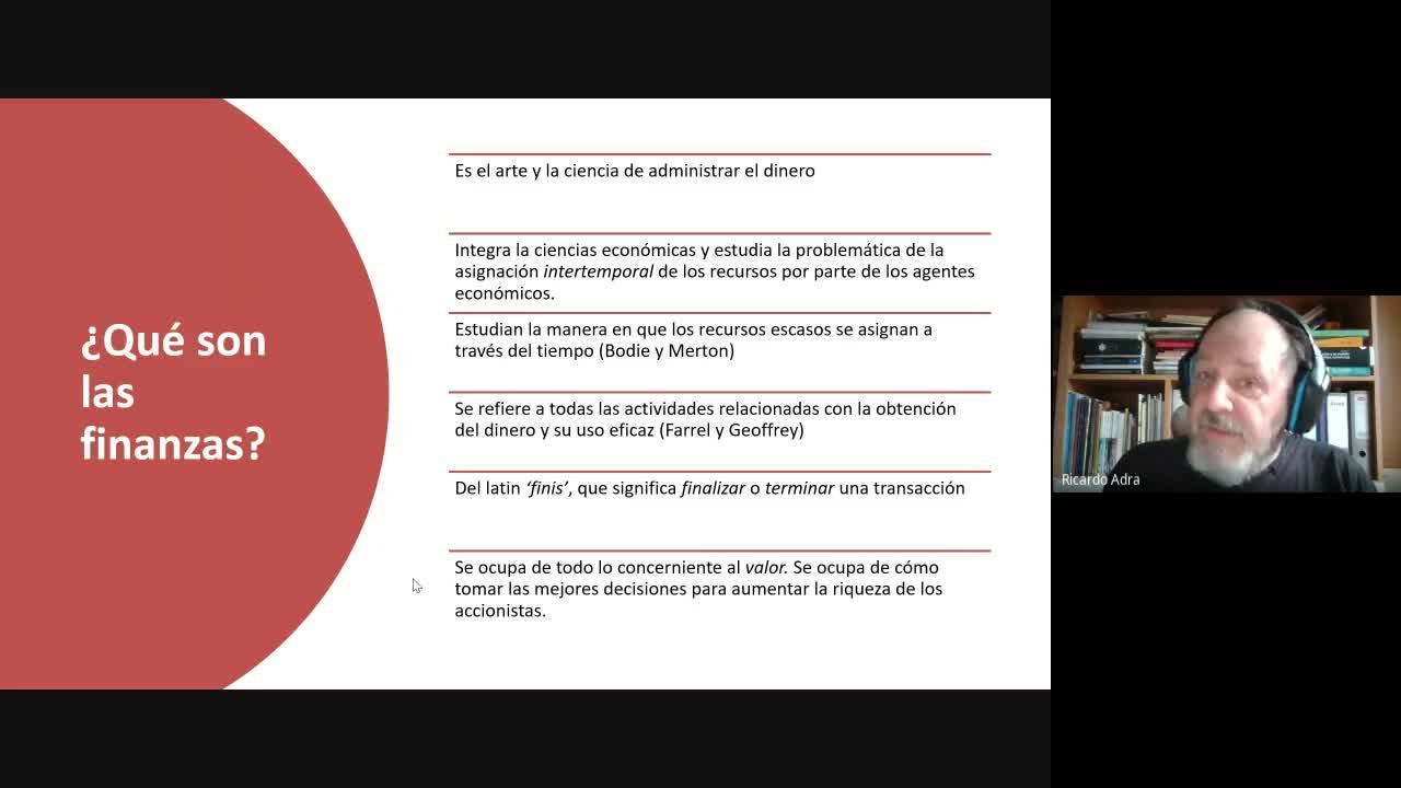 Diplomatura en Logística - Módulo 13 - Finanzas en la Gestión Logística (FGL) - Clase 1 - 29-05-21