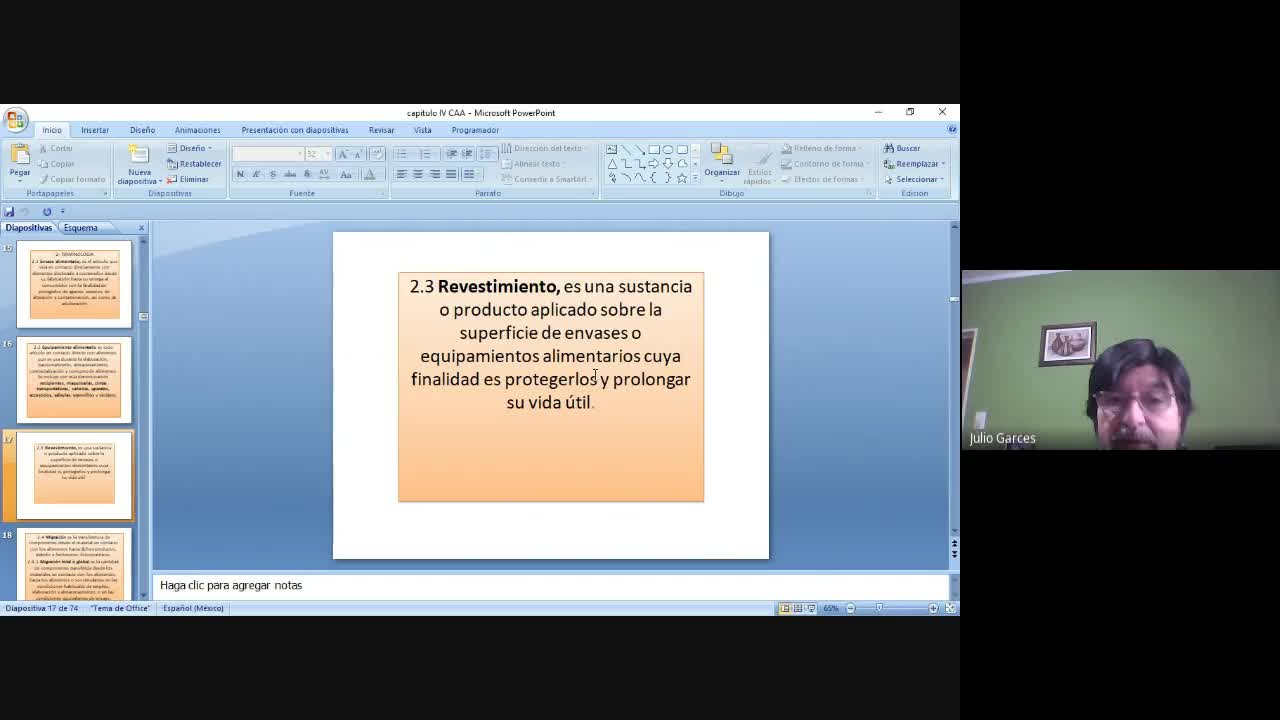 Clase Marco Legal  Capitulo IV CAA
