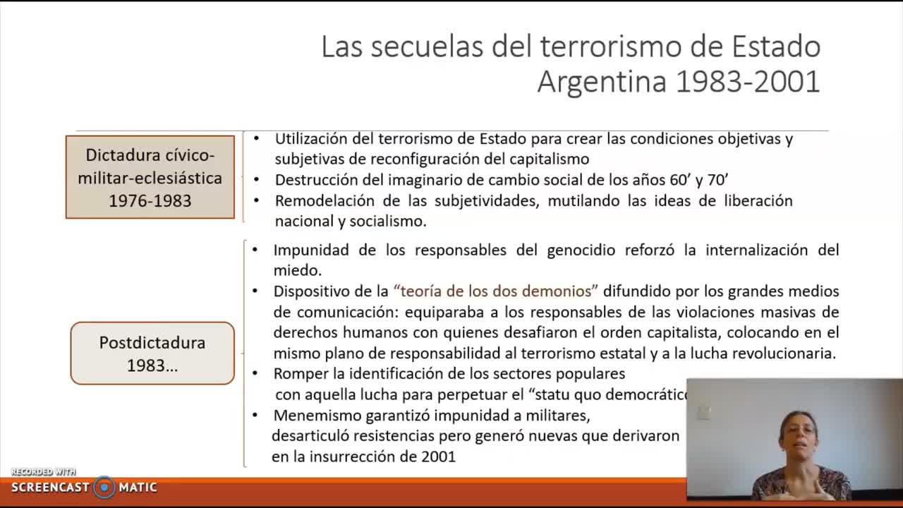 FACE/Sociología para Psicología/ Prof. Giaretto -Teórico N° 11-