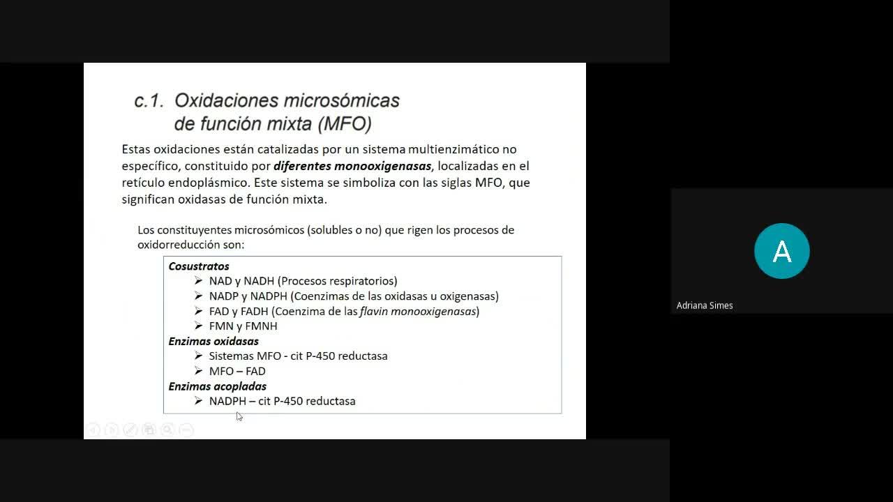 Bioq Alim 1-7-2021 Xenobióticos Parte2