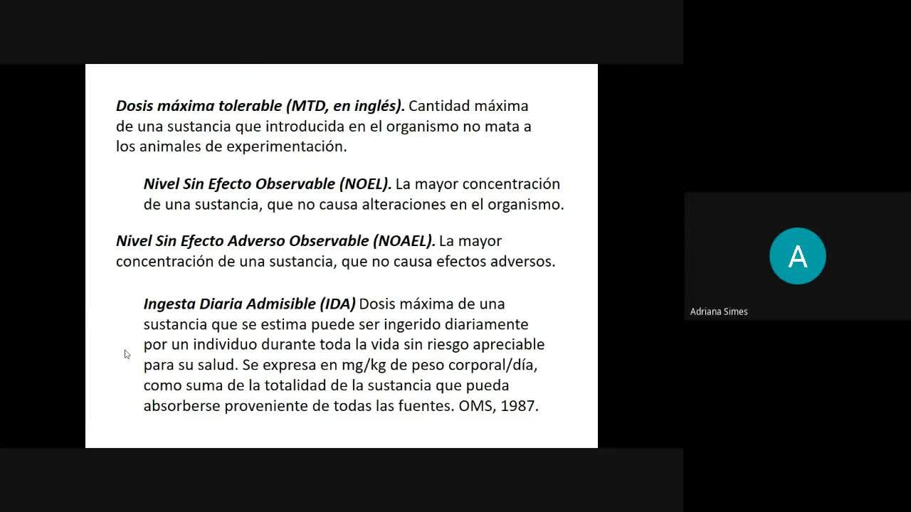 Bioq Alim 1-7-2021 Xenobióticos Parte1
