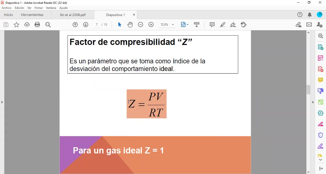 Clase 6/9/21 - Gases reales