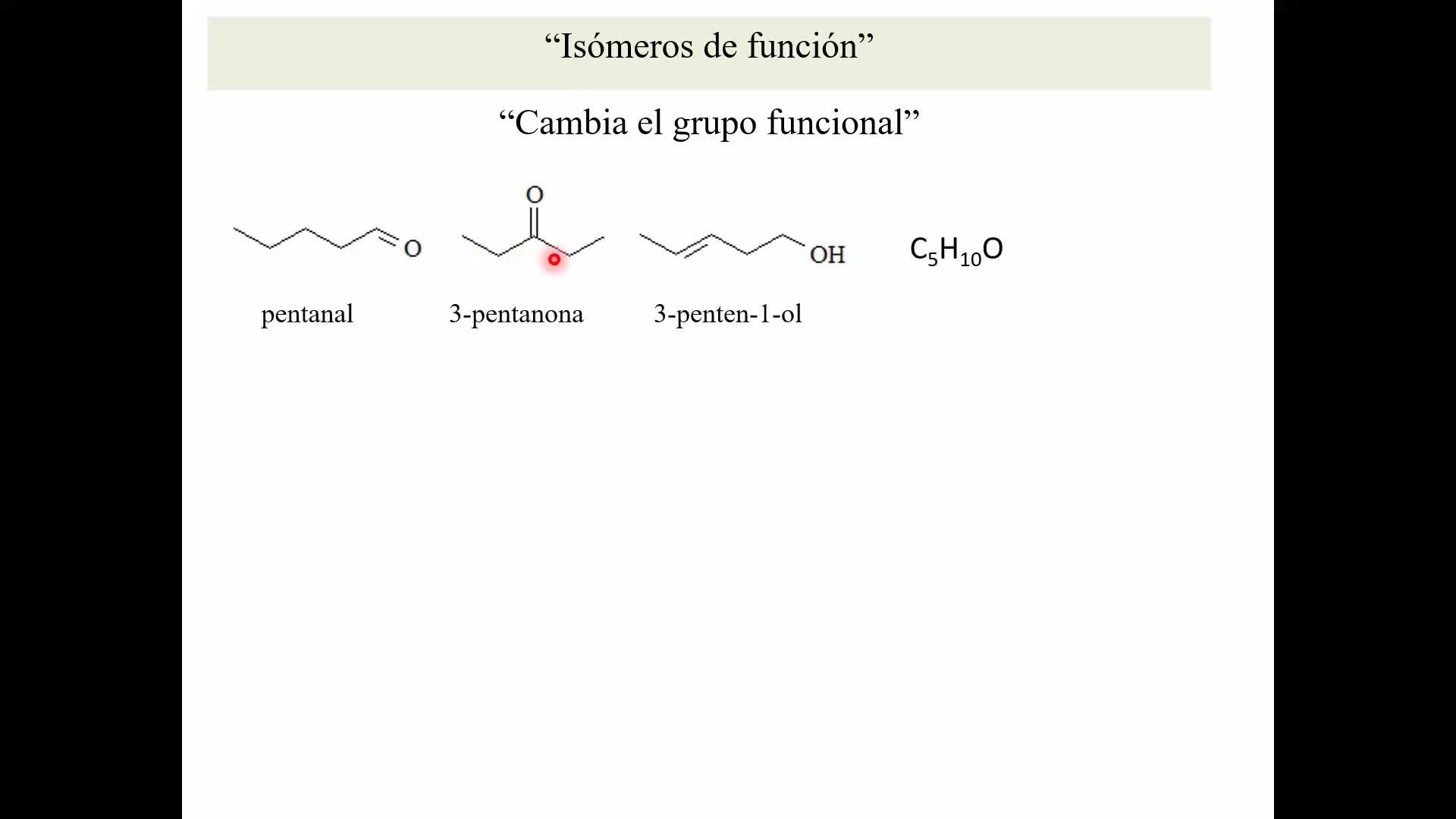 Ejercicio_Isomería Estructural