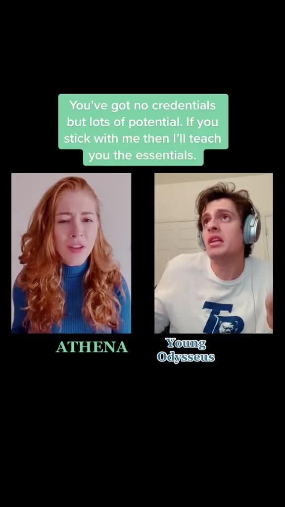 Atenea y Ulises
