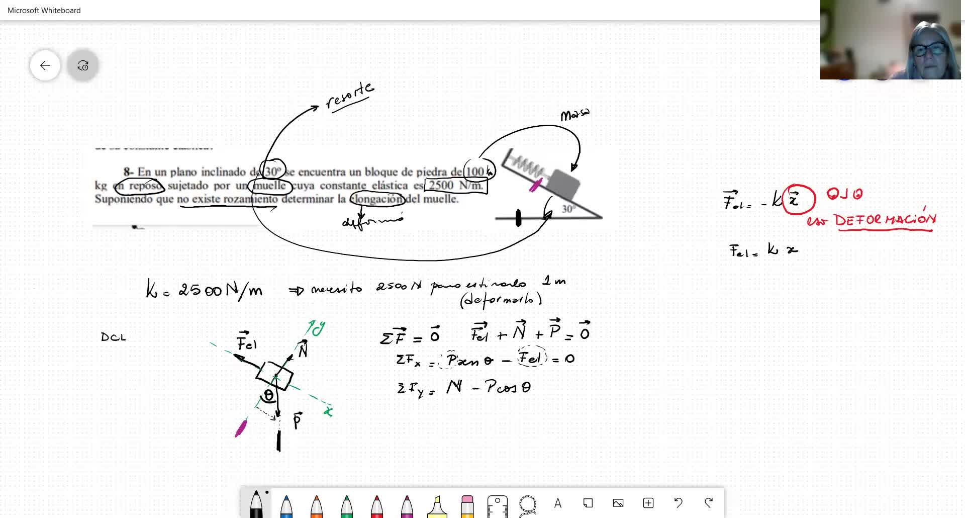 F1-M3_Dinámica-ejemplo fuerza elástica y sistema ligado con fricción